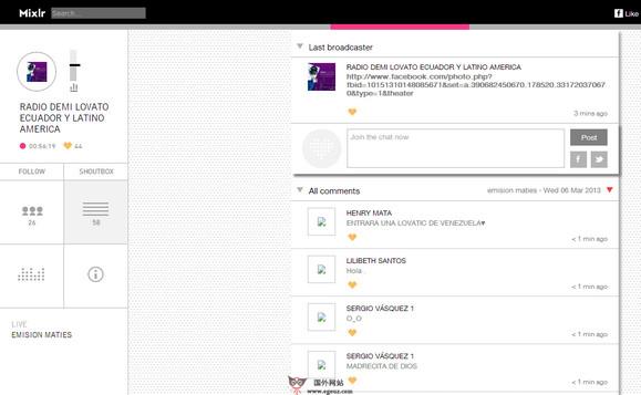 【经典网站】MixLr:在线音乐广播平台