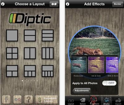 【工具类】DipticApp:照片画廊编辑工具