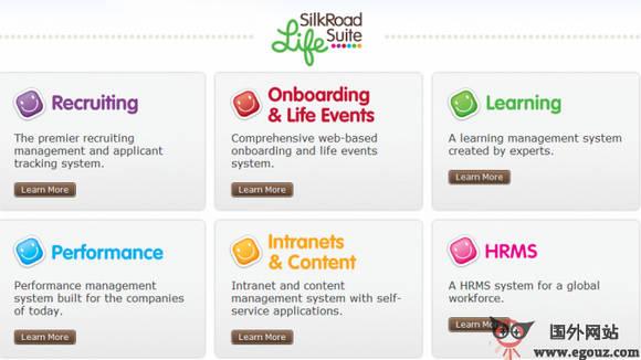 【经典网站】SilkRoad:云端人力资源管理平台