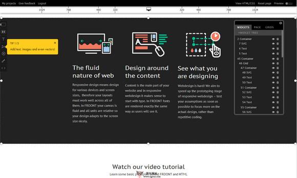 【工具类】Froont:在线可视化网页设计工具