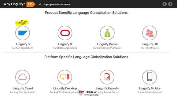 【经典网站】LinguaNext:在线企业全球化语言翻译服务平台