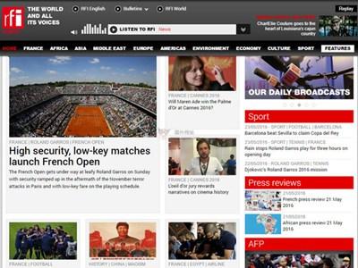 【经典网站】RFI:法国国际广播电台