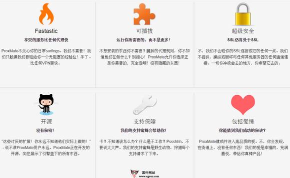 【工具类】Proxmate:国外网站地域限时解除工具