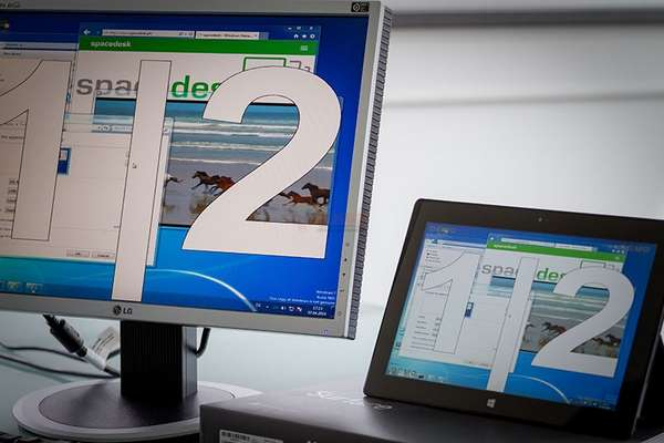 【工具类】SpaceDesk 跨平台外接显示器延伸工具