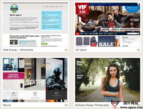 【经典网站】CssClassic:优秀网站设计展示平台