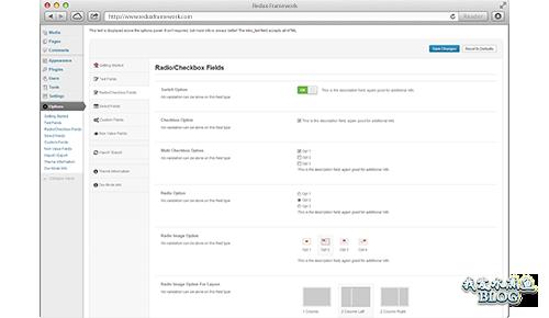 【Wordpress相关】免费的 WordPress 后台选项框架:Redux