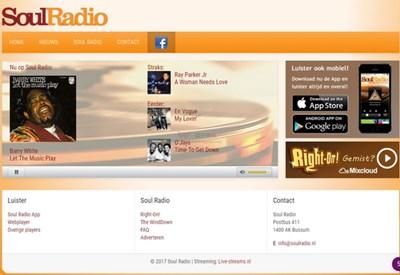 【经典网站】SoulRadio|灵魂音乐网络电台