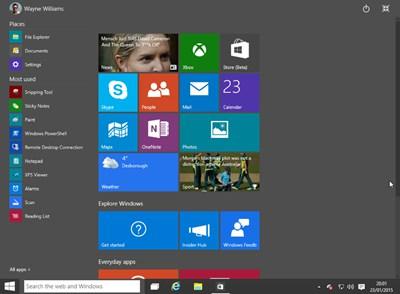 【数据测试】Windows 10 Build 9926 下载(技术预览版)