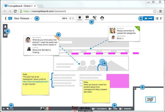 【经典网站】Conceptboard:在线可视化白板协作平台