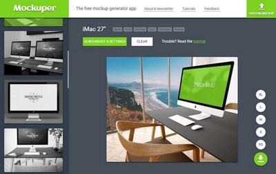 【工具类】Mockuper|设备屏幕图片自定义工具
