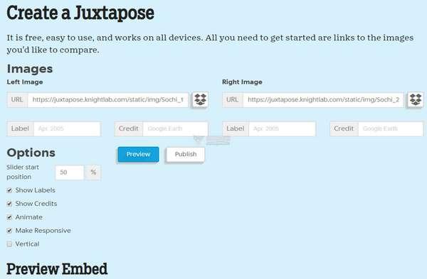 【工具类】JuxtaposeJS|在线照片比对特效制作工具