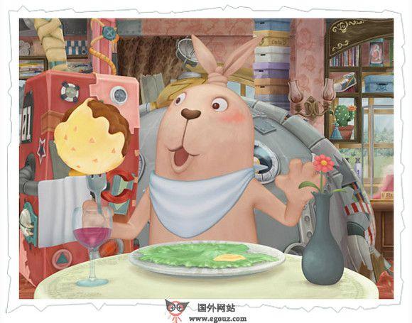 【经典网站】Usavich:日本越狱兔卡通官网