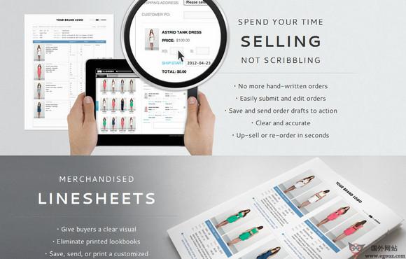 【经典网站】Nuorder:服装产品设计交易平台