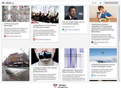 【经典网站】Clickug:资源书签链接专题分享平台