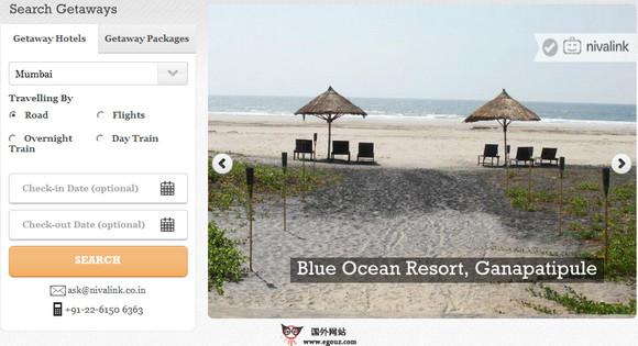 【经典网站】NivaLink:印度旅游点评推荐服务平台