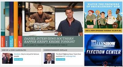 【经典网站】ComedyCentral:美国喜剧中心频道官方网站