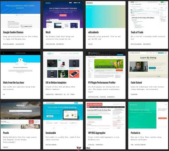 【素材网站】Starterkit:网站可视化设计资源网