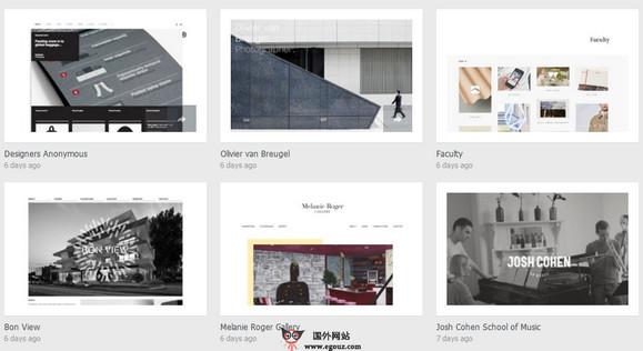 【素材网站】SiteInspire:优秀网页设计展示平台