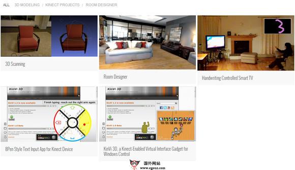 【经典网站】NconNex:可视化家具选购技术创新平台