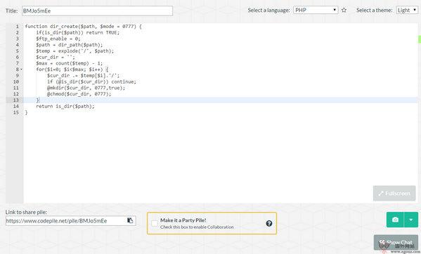 【工具类】CodePile:在线编程代码协作网
