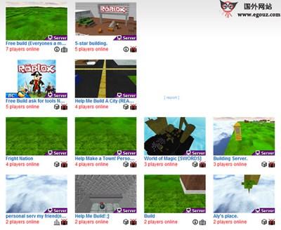 【经典网站】Roblox:青少年3D游戏开发制作平台