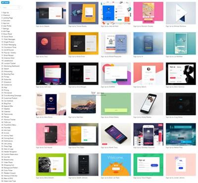 【素材网站】CollectUI:每日网页设计范例网