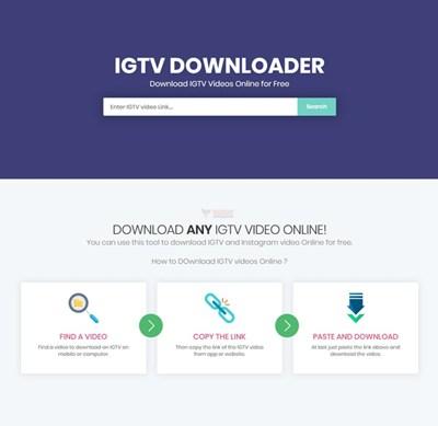 【工具类】IGTV Downloader|在线INS视频下载工具
