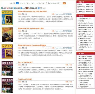 【经典网站】英文小说网|短篇英文小说阅读