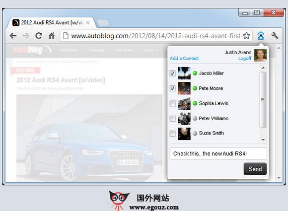 【工具类】Channel:网页点评多人协作工具