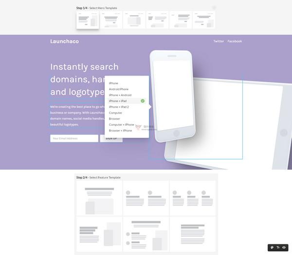 【经典网站】WebsiteBuilder|免费网站引导式制作工具