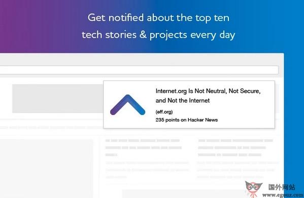 【工具类】TopNotifier:每日科技新闻推送工具