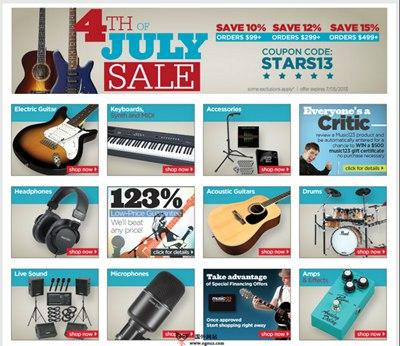 【经典网站】Music123:在线乐器购物网