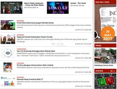 【经典网站】MediaIndonesia|印度尼西亚媒体新闻报