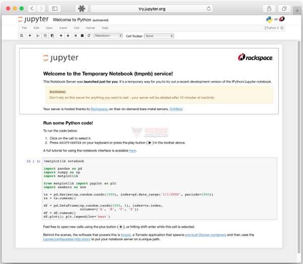 【工具类】Jupyter|在线交互计算笔记本