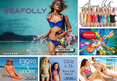 【经典网站】Swimsuits:女性泳装购物平台