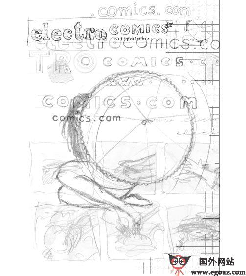 【经典网站】德国ElectrocoMics漫画创作平台