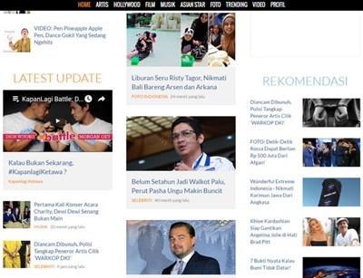 【经典网站】Kapanlagi|印尼娱乐新闻门户