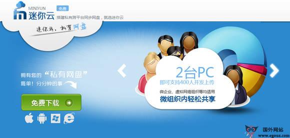 【工具类】MiNiYun:迷你云搭建私有跨平台同步网盘