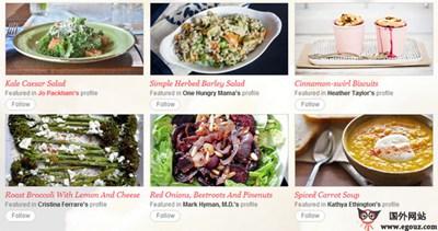 【经典网站】Foodily:可视化菜谱搜索订阅平台