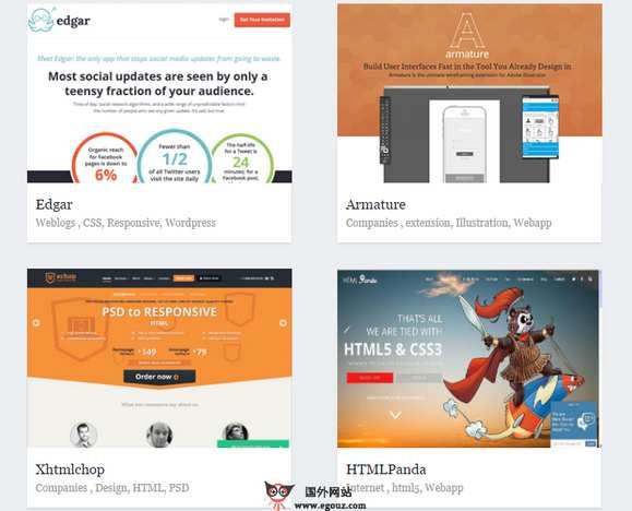 【素材网站】My3w:网页CSS灵感案例分享网