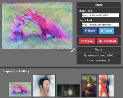 【工具类】Linify:在线图片转线条工具
