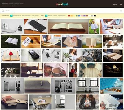 【素材网站】VisualHunt:免费高清图片搜索引擎