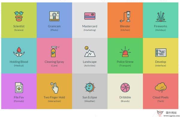 【素材网站】SwiftIcons:高品质多分类图标素材