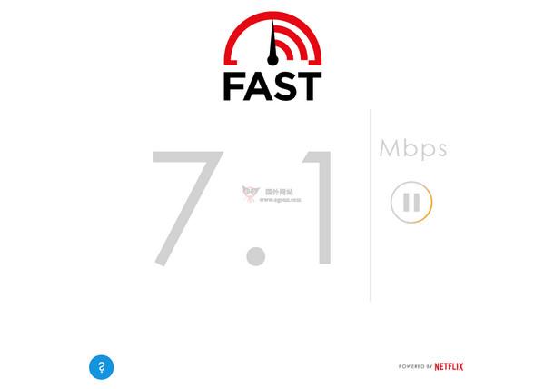 【工具类】Fast:国外免费测速工具