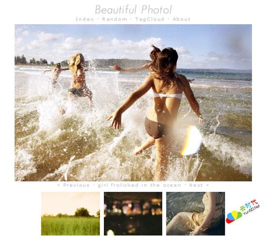【数据测试】Beautiful Photo! – 唯美意境图片分享网站
