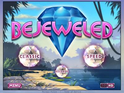 【数据测试】HTML5游戏:宝石迷阵Bejeweled 在线版