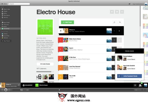 【经典网站】Soundrop.fm:社交音乐应用平台