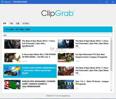 【工具类】ClipGrab:免费国外视频下载工具