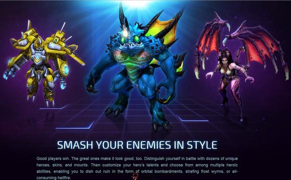 【经典网站】HeroesStorm:风暴英雄美服官网