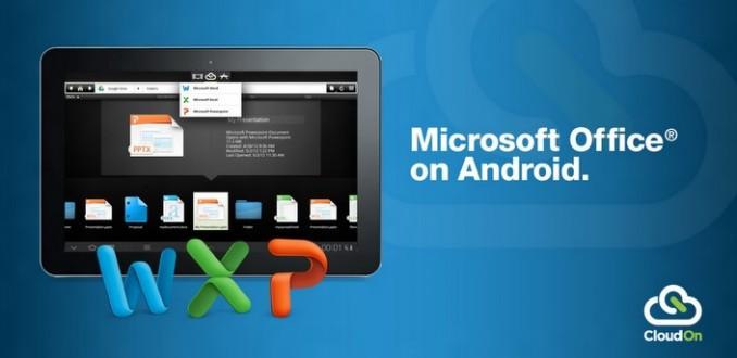 【数据测试】云端Office应用CloudOn发布Android平板电脑版本,支持Google Drive云存储